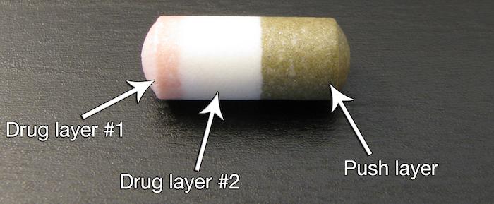 Tablettába rejtett minipumpa az egyenletes gyógyszeradagolás egyik kulcsa